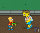Simpsons Shooting Game